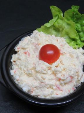 salade de crabe et surimi